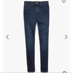 NWOT Madewell Curvy High Rise Jeans